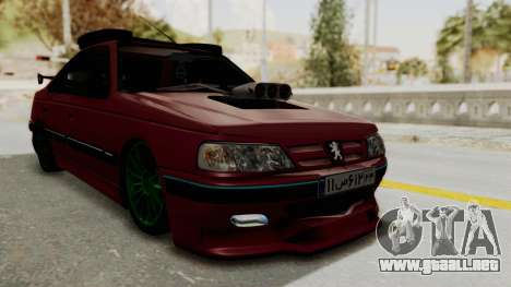 Peugeot Pars Sport para la visión correcta GTA San Andreas
