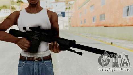 SR-25 para GTA San Andreas tercera pantalla