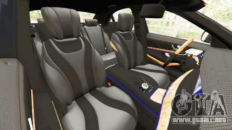 GTA 5 Mercedes-Benz S500 vista lateral derecha