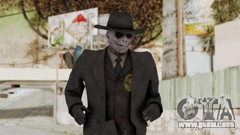 MGSV Phantom Pain SKULLFACE No Mask para GTA San Andreas