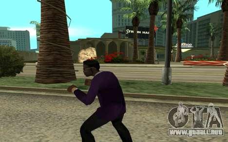 Jizzy para GTA San Andreas tercera pantalla