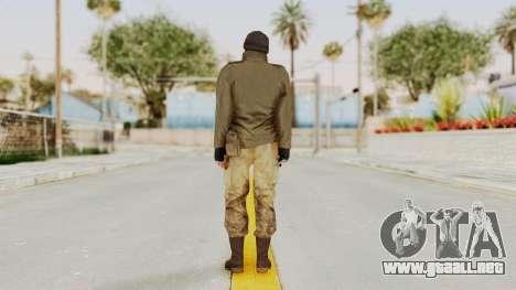 MGSV Phantom Pain CFA Sniper para GTA San Andreas tercera pantalla