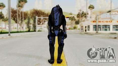 Mass Effect 2 Garrus para GTA San Andreas tercera pantalla