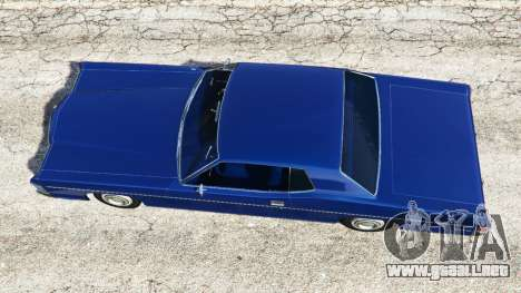 GTA 5 Mercury Monterey 1972 vista trasera