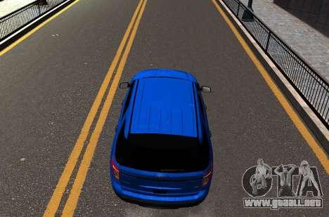Ford Explorer 2013 para GTA 4 visión correcta