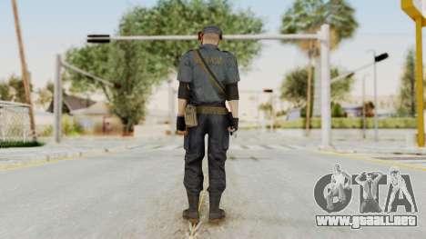 MGSV Phantom Pain Zero Risk Security LMG v2 para GTA San Andreas tercera pantalla