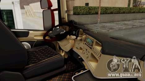 Scania R730 para visión interna GTA San Andreas