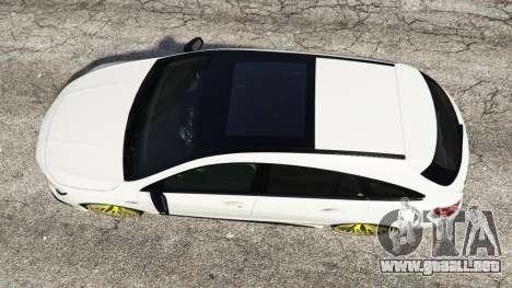 GTA 5 Mercedes-Benz CLA 45 AMG [HSR Wheels] vista trasera