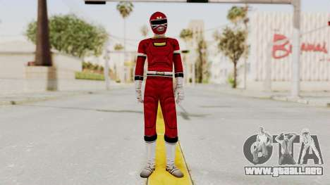 Power Rangers Turbo - Red para GTA San Andreas segunda pantalla