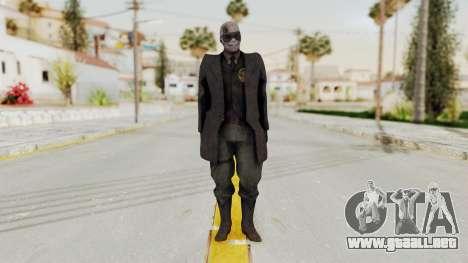 MGSV Phantom Pain SKULLFACE No Hat para GTA San Andreas segunda pantalla