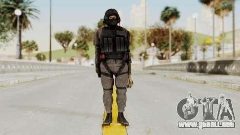 MGSV Phantom Pain Cipher XOF Afghanistan para GTA San Andreas segunda pantalla