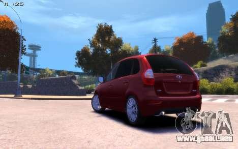 Lada Kalina 2 para GTA 4 left