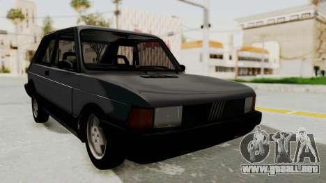 Fiat 147 Spazio TR para GTA San Andreas left