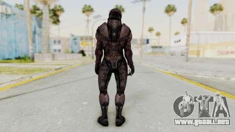 Mass Effect 3 Collector Male Armor para GTA San Andreas tercera pantalla