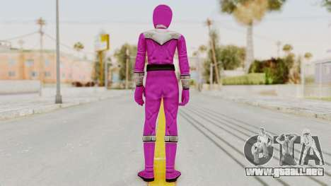 Power Rangers Time Force - Pink para GTA San Andreas tercera pantalla
