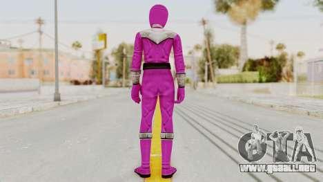 Power Rangers Time Force - Pink para GTA San Andreas tercera pantalla