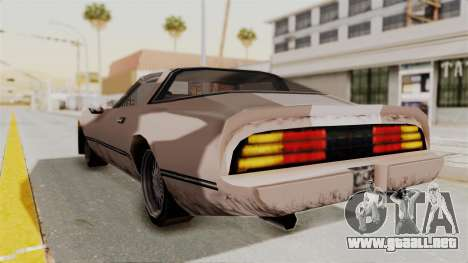 Beta VC Phoenix para GTA San Andreas left