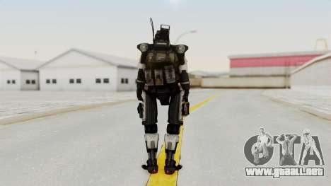 TitanFall Spectre para GTA San Andreas tercera pantalla