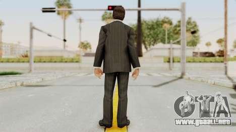Scarface Tony Montana Suit v2 para GTA San Andreas tercera pantalla