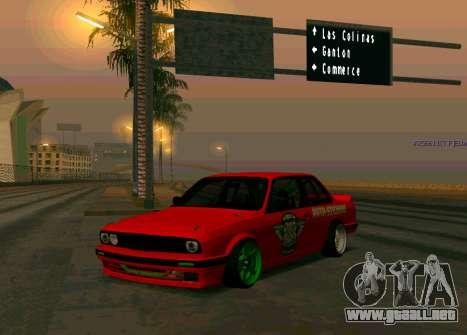 BMW E30 Drift para GTA San Andreas