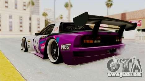 Mazda RX-7 FC Itasha para GTA San Andreas left