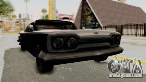 Voodoo Limited Edition para la visión correcta GTA San Andreas