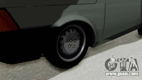 Fiat 147 Vivace para GTA San Andreas vista hacia atrás