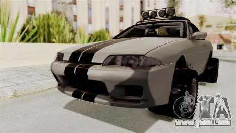 Nissan Skyline R32 Rusty Rebel para la visión correcta GTA San Andreas