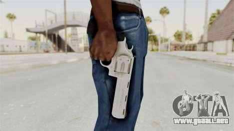 Colt .357 Silver para GTA San Andreas tercera pantalla