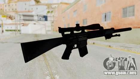 SR-25 para GTA San Andreas segunda pantalla