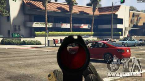 GTA 5 Steyr AUG A1 sexta captura de pantalla