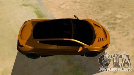 Savage Rivale para visión interna GTA San Andreas