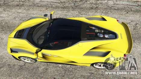 GTA 5 Ferrari LaFerrari vista trasera