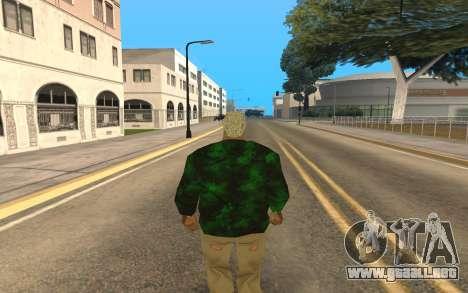 Grove Street Gang Member para GTA San Andreas segunda pantalla