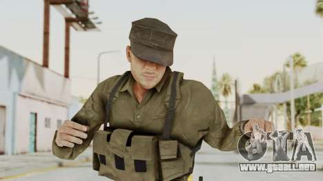 MGSV Phantom Pain Rogue Coyote Soldier Shirt v2 para GTA San Andreas