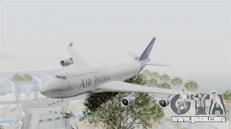 Boeing 747-400 Air India para GTA San Andreas