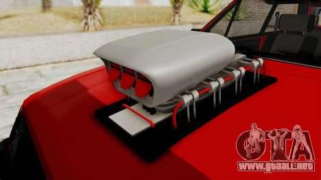 Chevrolet Chevette SL 1988 Monster Truck para visión interna GTA San Andreas