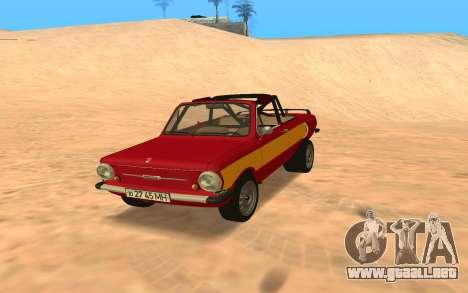 ЗАЗ-968 Offroad Style para GTA San Andreas