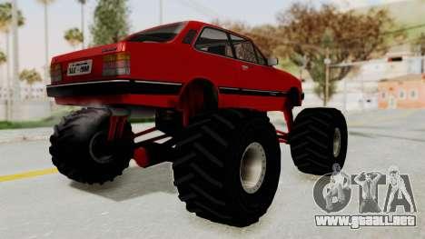 Chevrolet Chevette SL 1988 Monster Truck para GTA San Andreas left