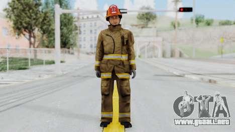 GTA 5 Fireman LS para GTA San Andreas segunda pantalla
