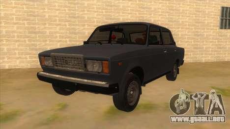 VAZ 2107 RUSIA para GTA San Andreas
