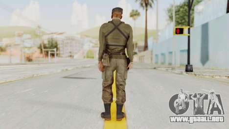 MGSV Phantom Pain Rogue Coyote Soldier Shirt v2 para GTA San Andreas tercera pantalla