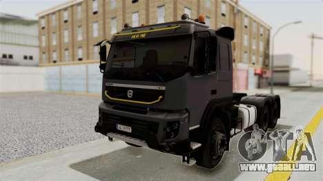 Volvo FMX Euro 5 6x4 para GTA San Andreas
