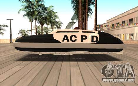 Flying Police para GTA San Andreas left