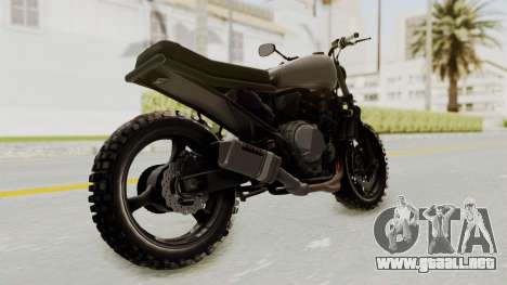 Mad Max Inspiration Bike para la visión correcta GTA San Andreas