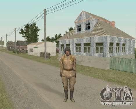 Los soldados soviéticos para GTA San Andreas segunda pantalla