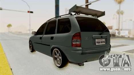 Chevrolet Corsa Wagon Tuning para GTA San Andreas left