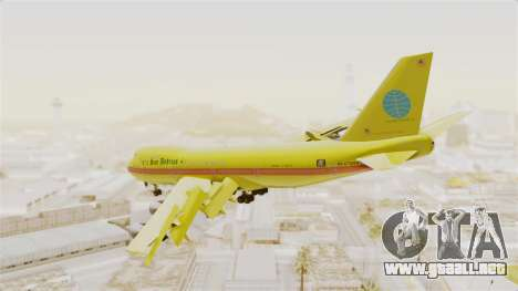 Boeing 747-200 Trans San Andreas Air para GTA San Andreas left