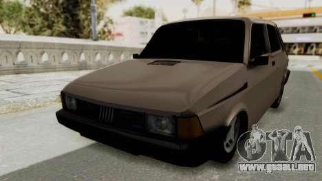 Fiat 147 TR De Picadas para GTA San Andreas vista posterior izquierda