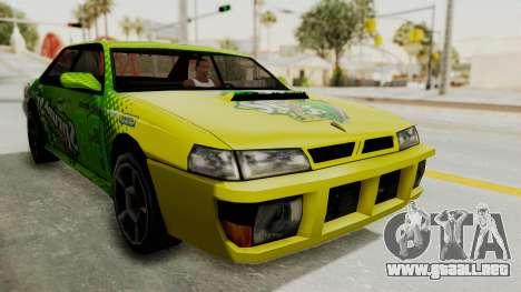 Sprunk Sultan para la visión correcta GTA San Andreas